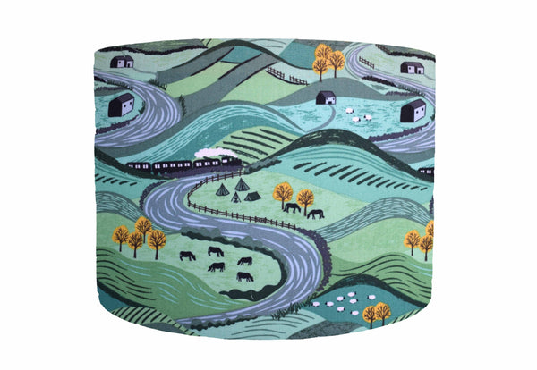 green littondale lampshade