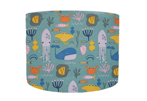 under the sea themed lampshade