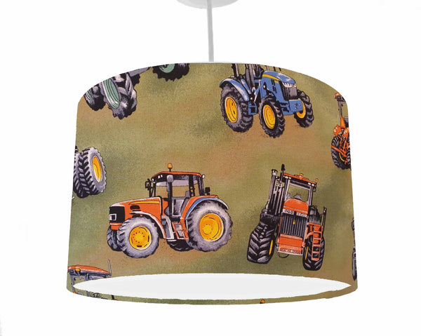 tractor themed nursery ceiling pendant light
