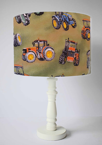 tractor table lamp shade