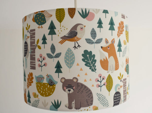 woodland nursery ceiling light shade