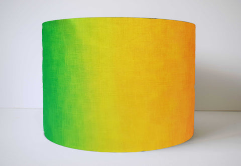 Rainbow Lampshade, Bright Rainbow Nursery Decor
