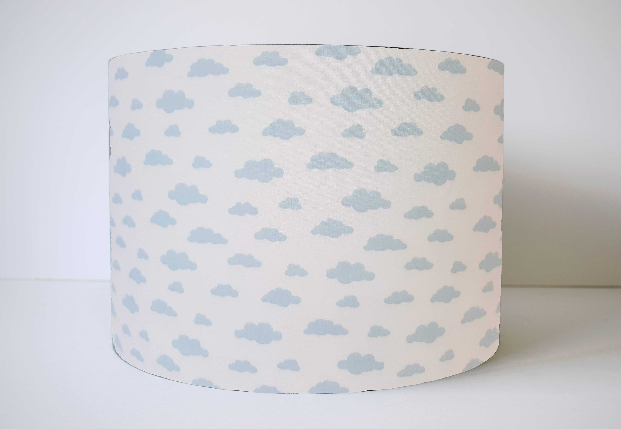 Blue Cloud Lamp Shade, Cloud Nursery Themed Decor
