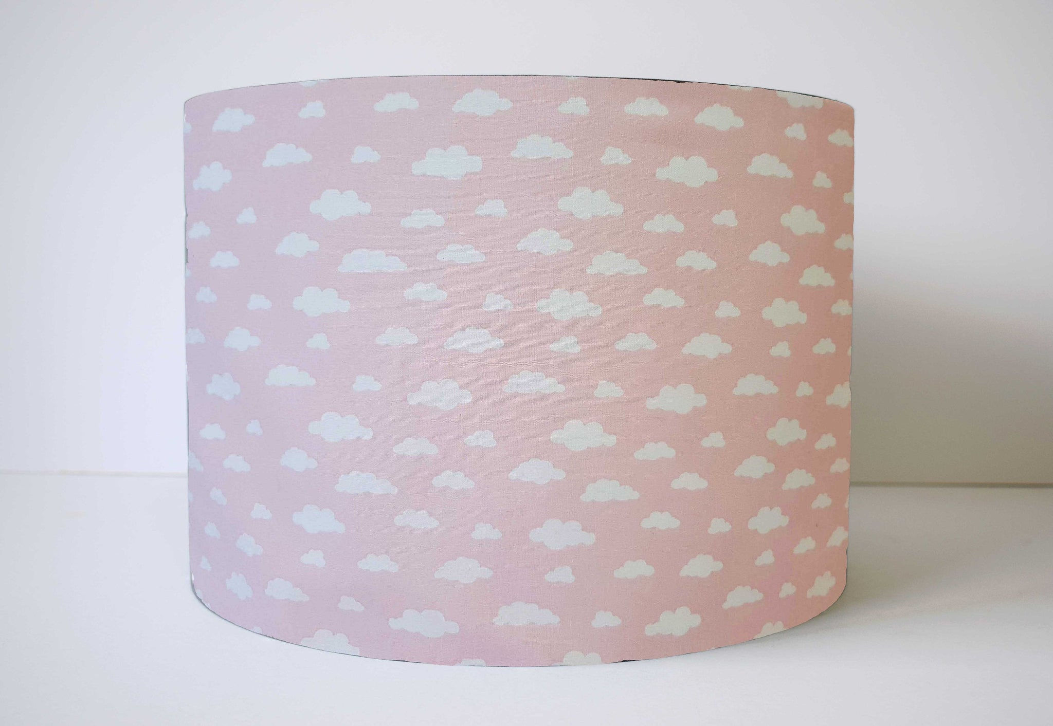 Pink Cloud Lampshade, Pink Nursery Decor