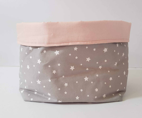 girl bedroom star storage basket