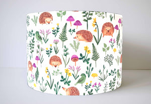 hedgehog lampshade for kids