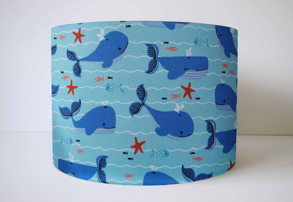 whale lampshade children