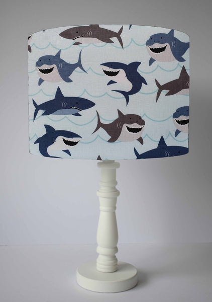 shark children table lamp