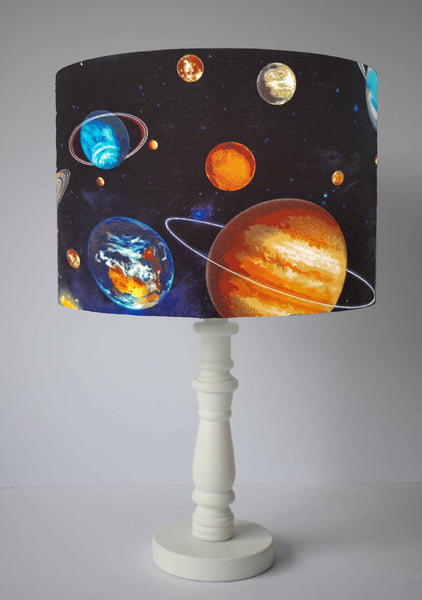 space themed bedroom table lamp shade