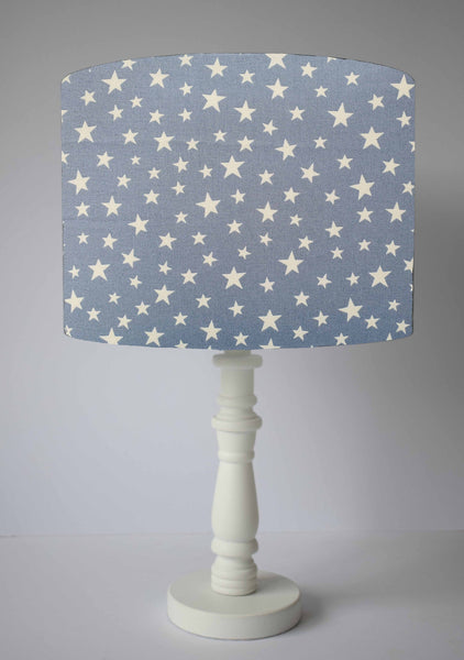 Glow In The Dark Grey Star Lampshade, Fun Lampshade