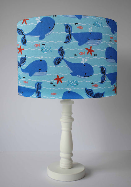 Whale Lampshade For Kids, Children Bedroom Lightshade