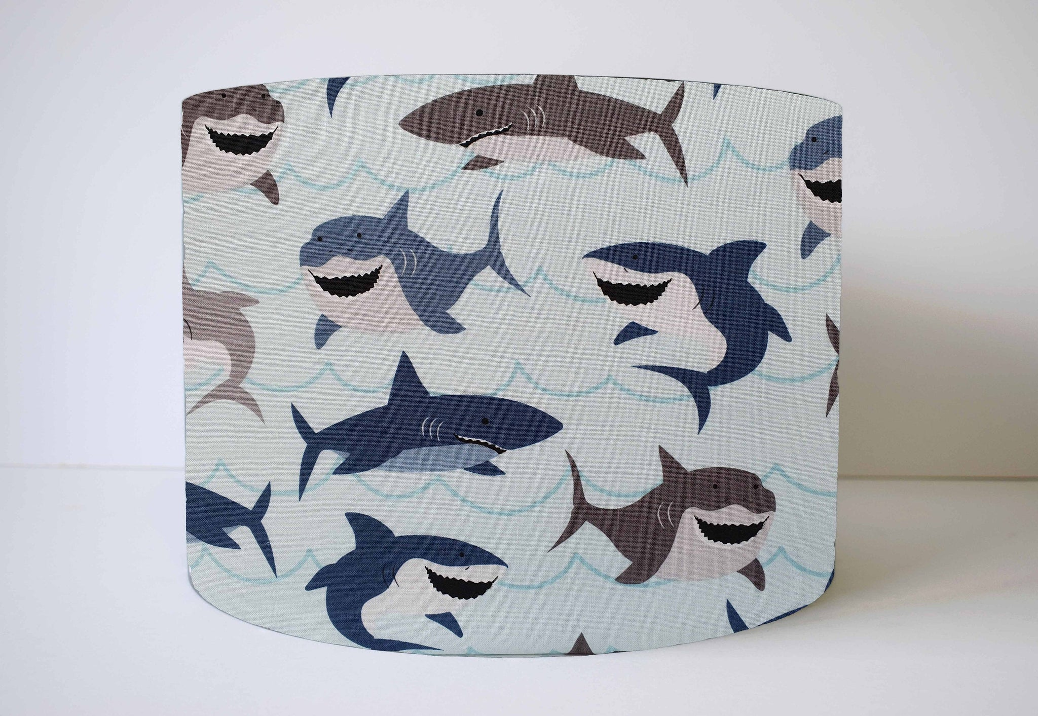 shark nursery lampshade
