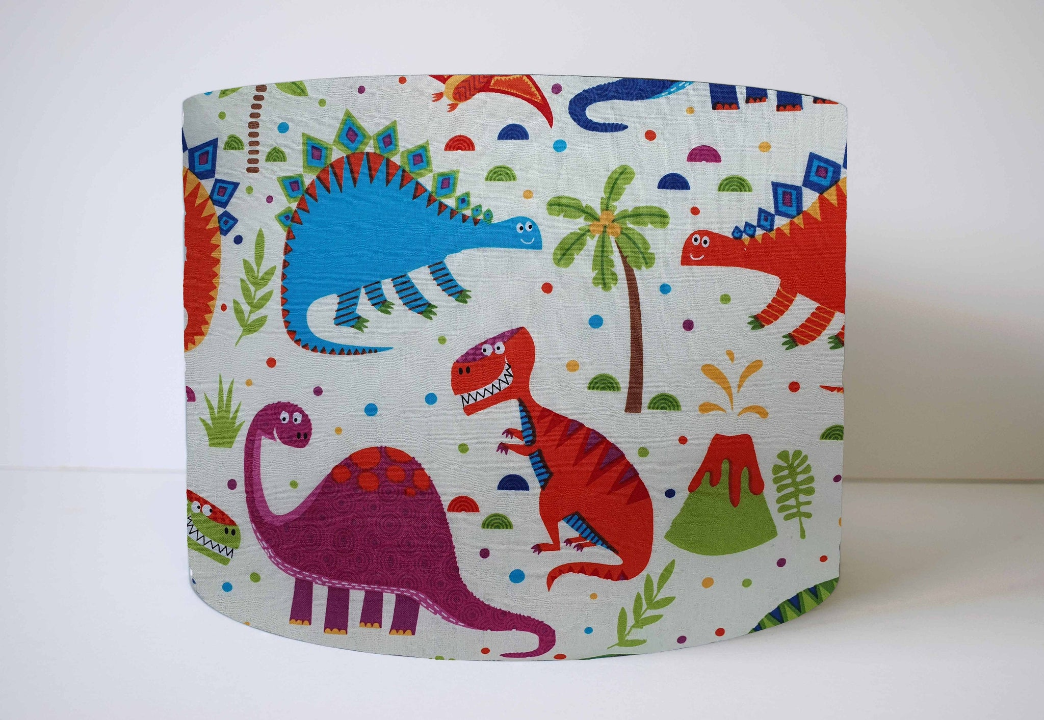 Girl Dinosaur Lampshade, Dinosaur Themed Bedroom Decor