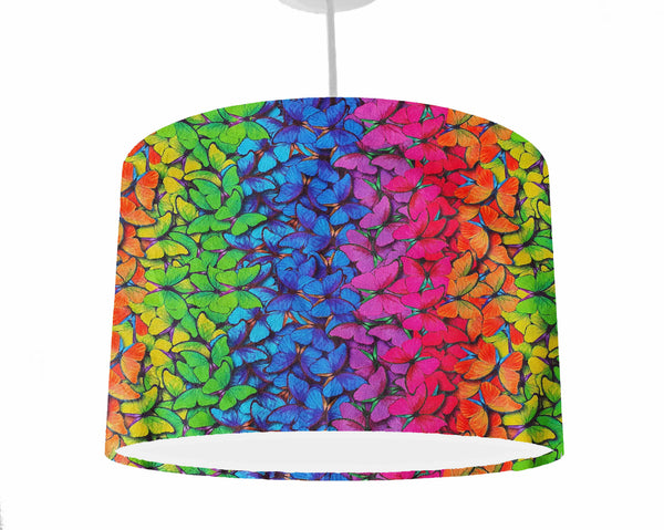 ombre rainbow butterfly home decor