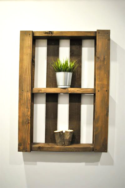 Metrí - Industrial Wall Shelf