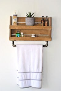 Krasí – Industrial Wall Shelf