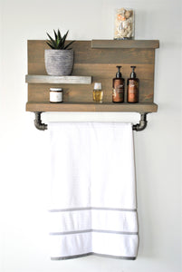Pséta – Industrial Wall Shelf