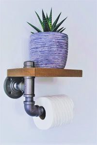 Chartí – Industrial Toilet Paper Holder
