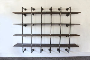 Ntoulá - Industrial Wall Shelf