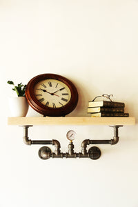 Nkázi - Industrial Wall Shelf