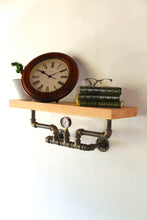 Load image into Gallery viewer, Nkázi - Industrial Wall Shelf