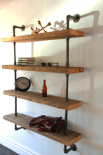 Load image into Gallery viewer, Xylo - Industrial Wall Shelf