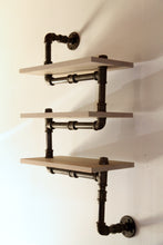 Load image into Gallery viewer, Kára - Industrial Wall Shelf