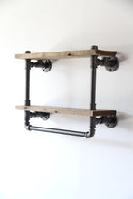 Load image into Gallery viewer, Loutró - Industrial Wall Shelf