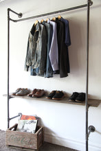 Load image into Gallery viewer, Ntýno – Industrial Clothing Rack