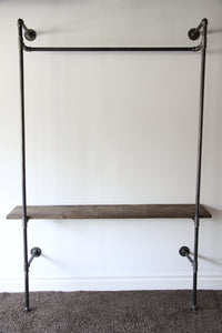 Ntýno – Industrial Clothing Rack