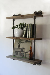 Ntekór - Industrial Wall Shelf