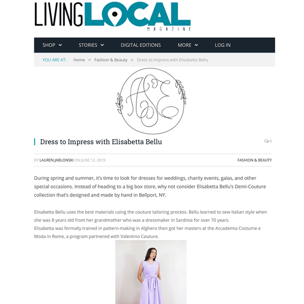 Living Local Long Island magazine