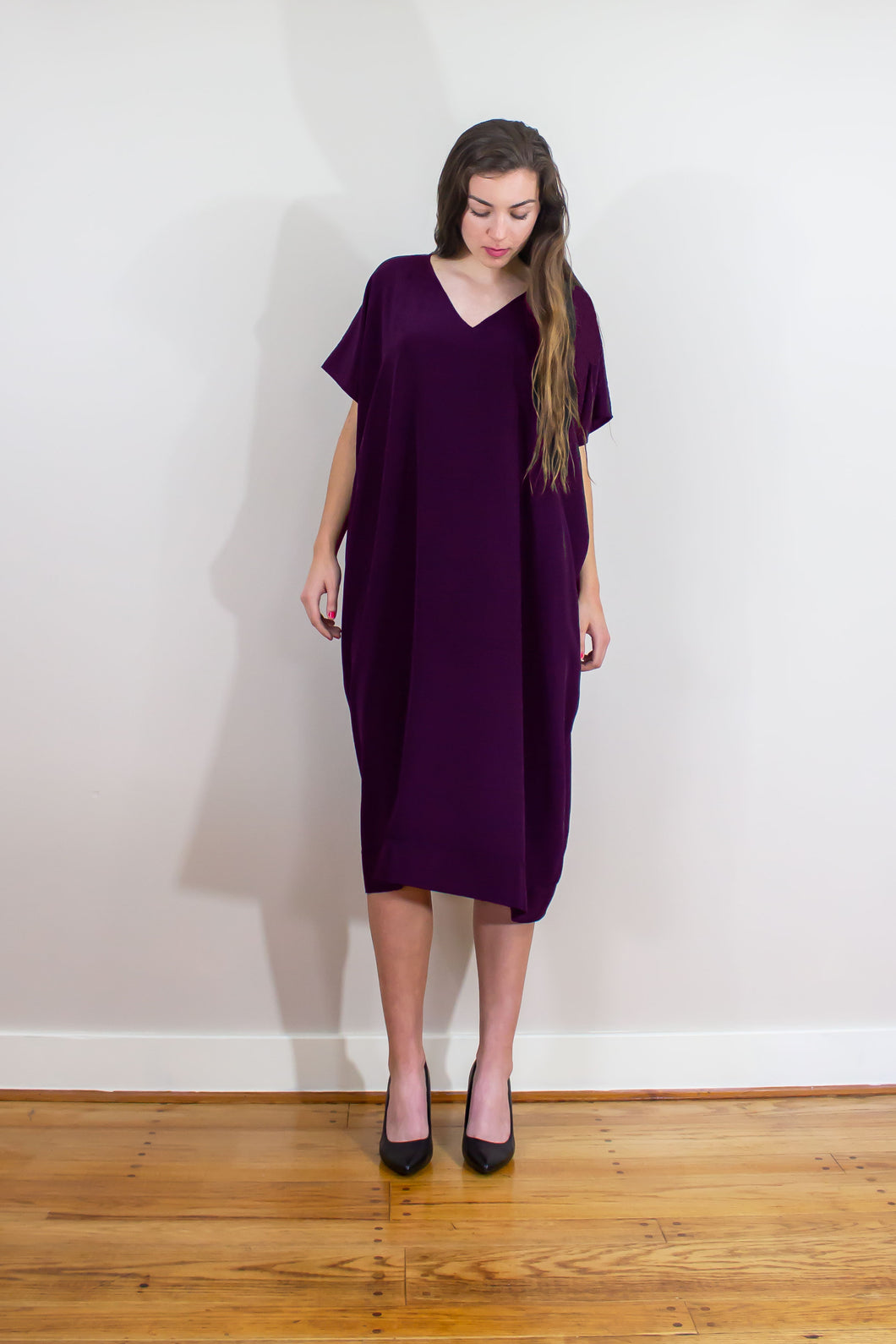 Elisabetta Bellu Elsa silk caftan dress