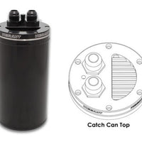 Vibrant Universal Catch Can Recessed Filter Top