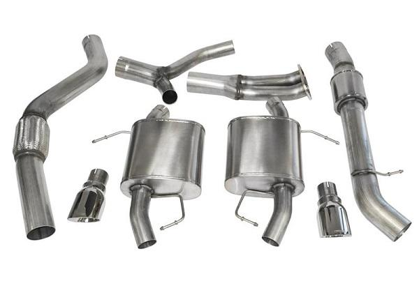 BMW 335i Corsa Cat Back Exhaust