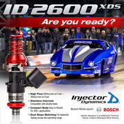 Injector Dynamics 2600cc Injectors