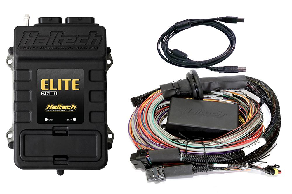 Haltech Elite 2500 with Premium Universal Harness Kit | AG ... on lightweight safety harness, universal fuse box, universal equipment harness, universal heater core, universal miller by sperian harness, construction harness, universal radio harness, universal fuel rail, universal ignition module, universal battery, universal steering column, stihl universal harness, universal air filter,