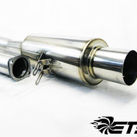 ETS Evo X Single Exhaust System