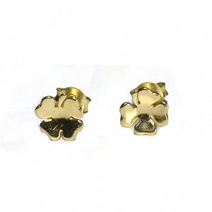 Perfect for St. Patrick's Day gold plated Shamrock Earrings