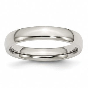 Stainless Steel 4mm Polished Band