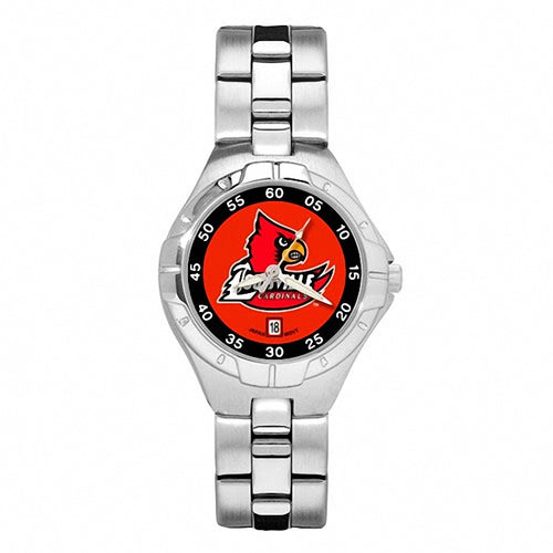 UNIV OF LOUISVILLE CARD HEAD PRO II WOMAN'S BRACELET WATCH