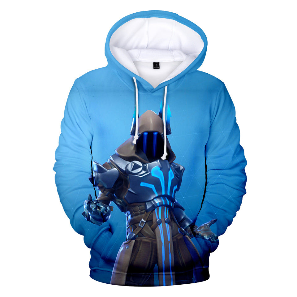 Fortnite Hoodie Ice King Printed Casual Sweatshirt