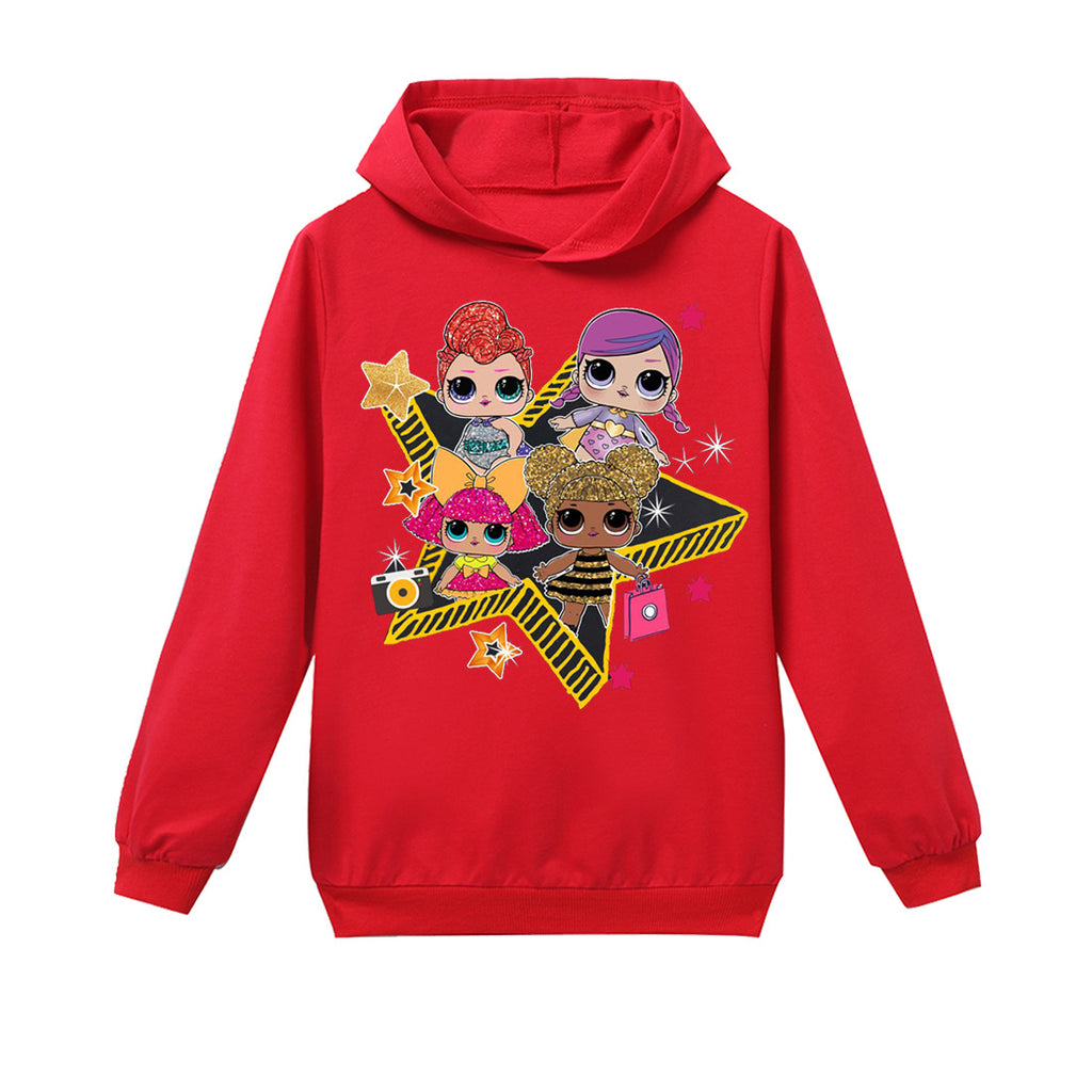 L.O.L. Surprise! Hoodie red