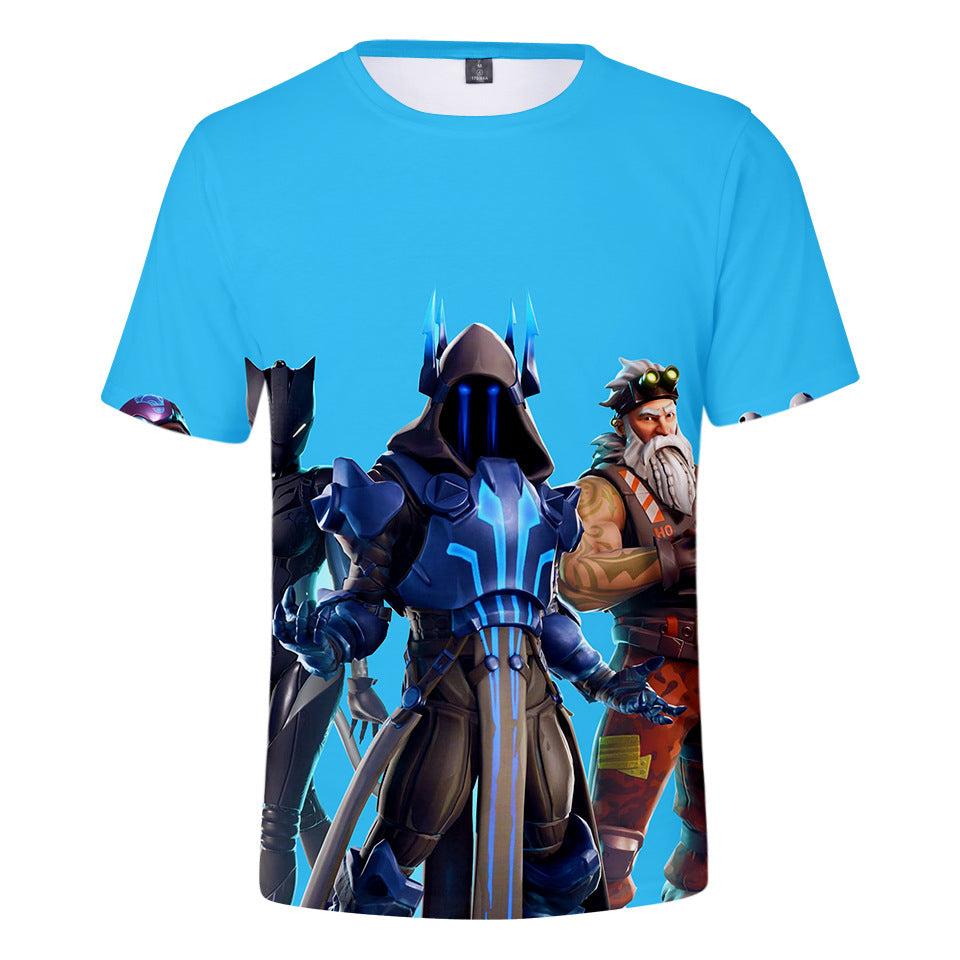 Fortnite Ice King 3D printing tshirt