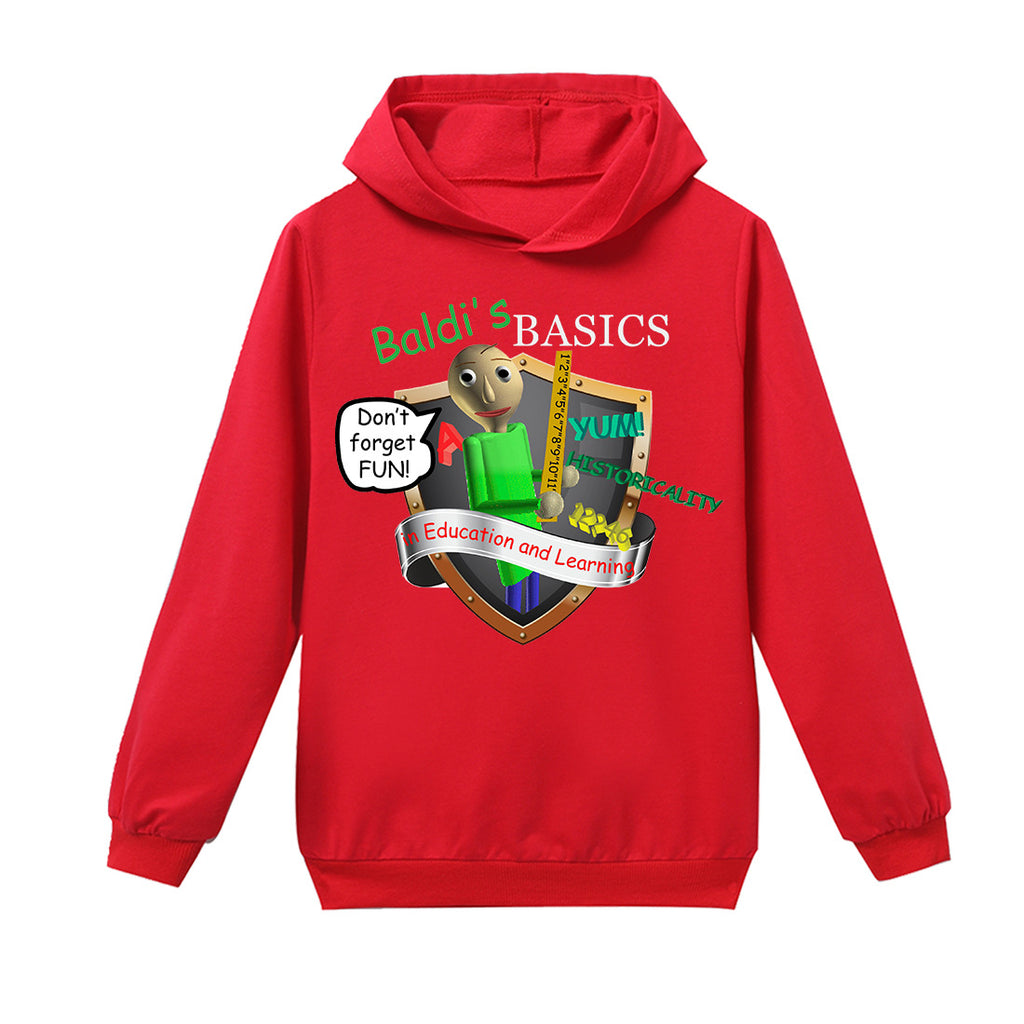 Baldi's Basics in Education and Learning Kids Long-sleeved t-shirt