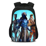 Fortnite Ice King Backpack with Lunch Box and Pencil Case