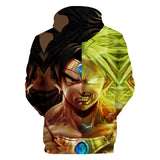 Dragon Ball Super Broly 3D Hoodie