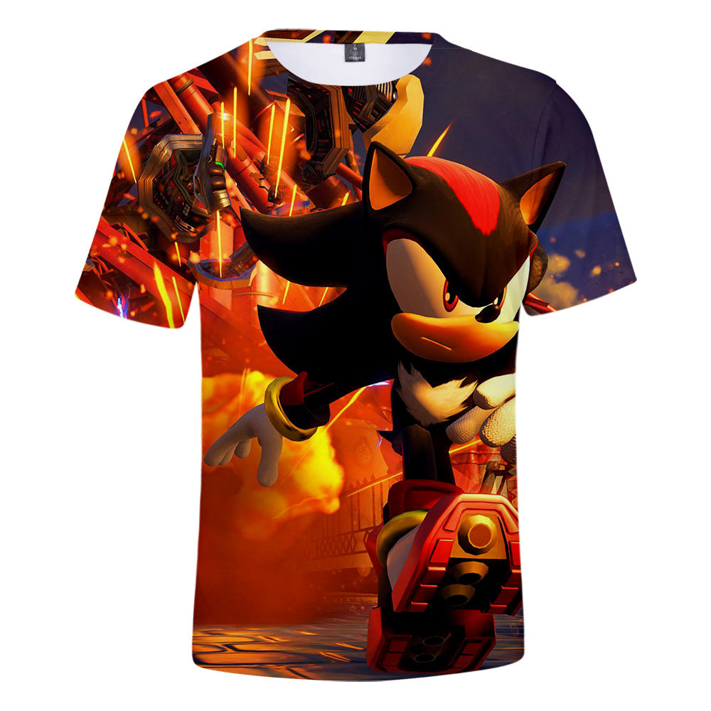 3D Sonic The Hedgehog Cool tshirt
