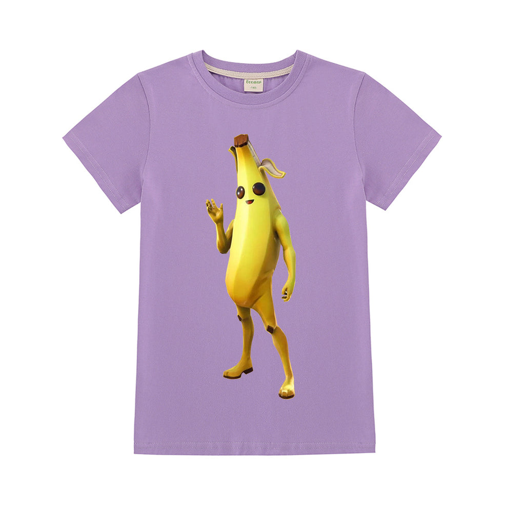 Kids Fortnite peely t-shirt for boys and girls
