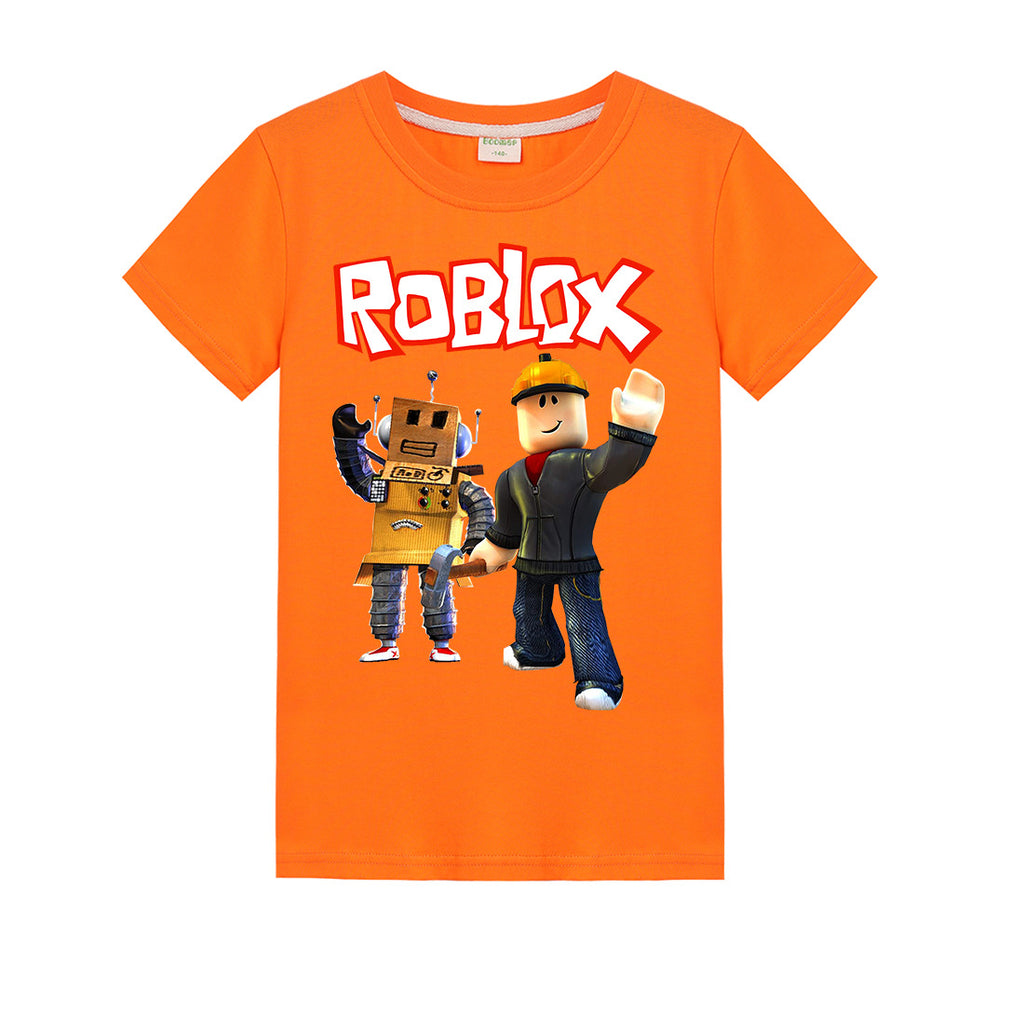 Game Roblox Short Sleeves Nice For Kids Cotton T Shirt Nfgoods
